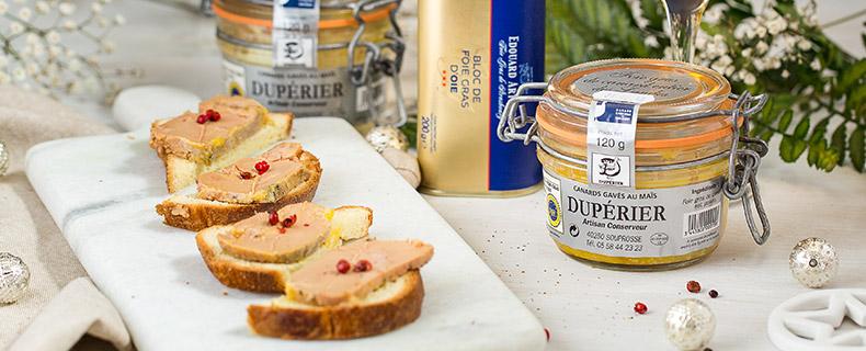 foie gras y trufas