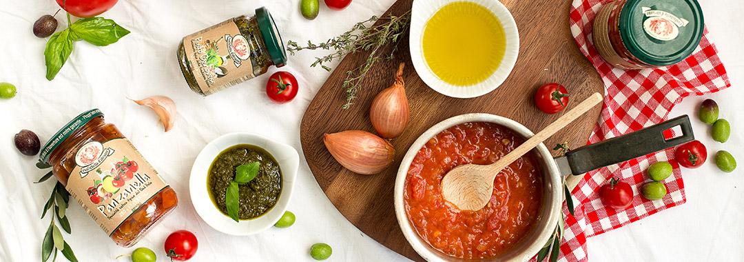 salsas y pesto