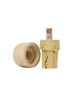 Tapónes vertedores - corcho y madera 50 cl - La Guinelle