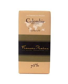 Tableta chocolate negro Colombia - Pralus