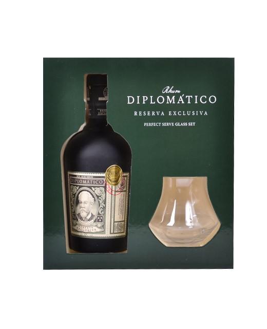 Set Diplomatico Reserva Exclusiva - Set 2 copas - Diplomatico