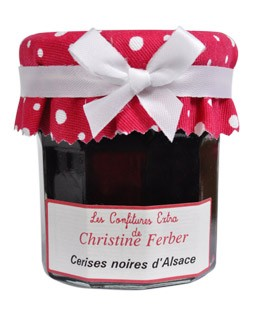 Mermelada de cerezas negras - Christine Ferber