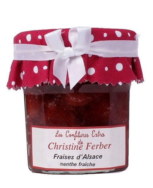 Mermelada de fresas a la menta fresca - Christine Ferber