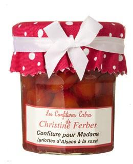 Mermelada de guindas y rosa - Christine Ferber