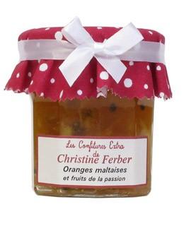 Mermelada de naranja y frutos de la pasión - Christine Ferber