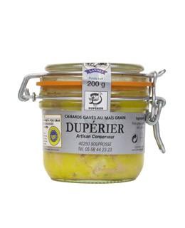 Foie gras de pato entero con miel de acacias - Dupérier