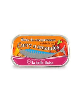 Filetes de caballa cocinados con curry y almendras - La Belle-Iloise