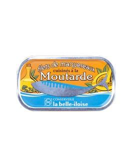 Filetes de caballa concinado con mostaza - La Belle-Iloise