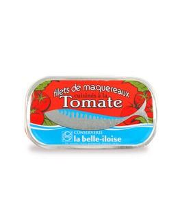 Filetes de caballa concinados con tomate - La Belle-Iloise