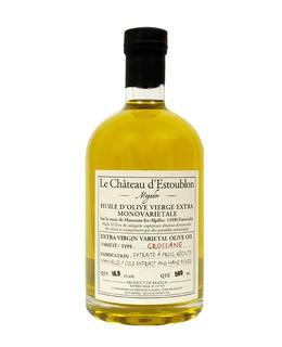 Aceite de oliva virgen extra - Grossane 100% - Château d'Estoublon