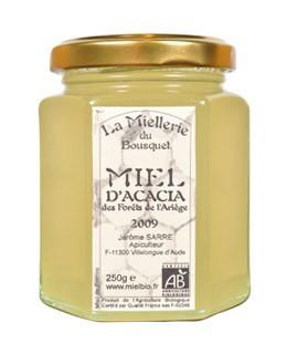 Miel de acacia orgánica - Miellerie du Bousquet