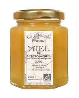 Miel de castaño orgánica - Miellerie du Bousquet