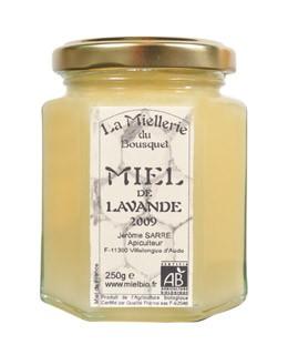 Miel de lavanda orgánica - Miellerie du Bousquet