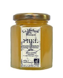 Miel de rododendro orgánica - Miellerie du Bousquet