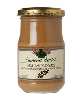 Mostaza marrón dulce con especias - Fallot