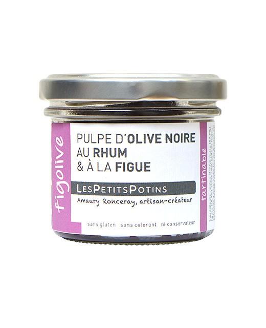 Pulpa de aceituna negra con Ron y higos - Les Petits Potins
