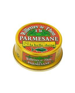 Rillettes de Atún a la parmesana - La Belle-Iloise