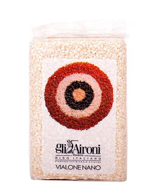 Arroz Vialone Nano 1 kg - Gli Aironi