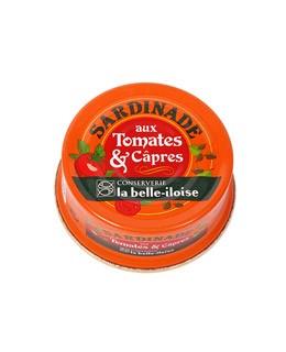 Crema de Sardinas con tomates y alcaparras - La Belle-Iloise