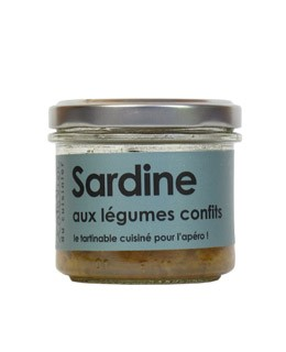 Sardina, con verduras confitadas - L'Atelier du Cuisinier