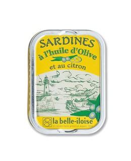 Sardinas en aceite de oliva con limón - La Belle-Iloise
