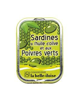 Sardinas en aceite de oliva con pimientos verdes - La Belle-Iloise
