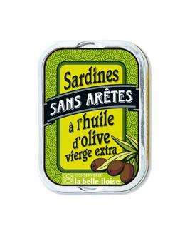 Sardinas en aceite de oliva sin espinas - La Belle-Iloise