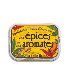 Sardinas en aceite de oliva virgen con especias - La Belle-Iloise