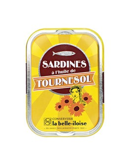Sardinas en aceite de girasol - La Belle-Iloise