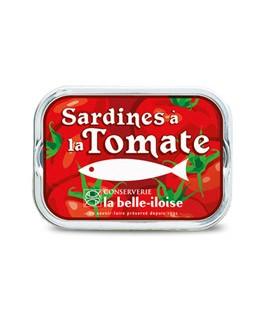 Sardinas en aceite de girasol con tomate - La Belle-Iloise