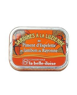 """Sardinas a la """"luzienne"""" - La Belle-Iloise"""