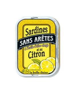 Sardinas sin espinas en aceite de oliva con limón - La Belle-Iloise