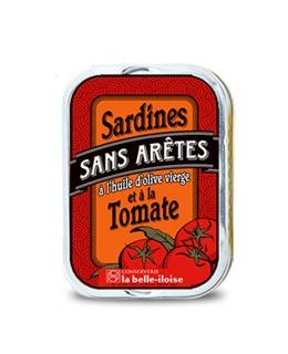 Sardinas sin espinas en aceite de oliva con tomate - La Belle-Iloise