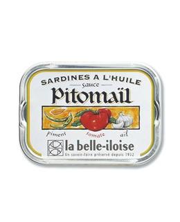 Sardinas en salsa de tomate, pimiento y ajo - La Belle-Iloise