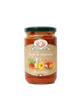 Salsa de tomate con pimientos - Rustichella d'Abruzzo