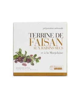 Terrina de Faisán con Pasas de uva y Mayorana - Provence Tradition
