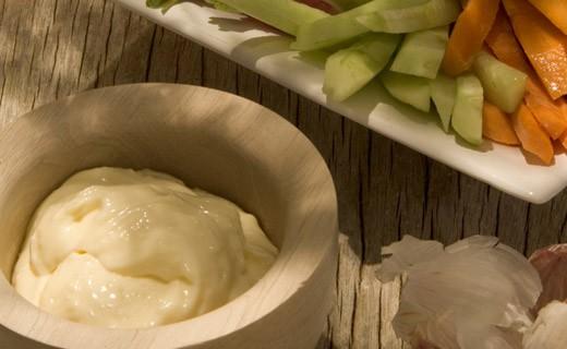 Alioli de huevos frescos - Azaïs-Polito