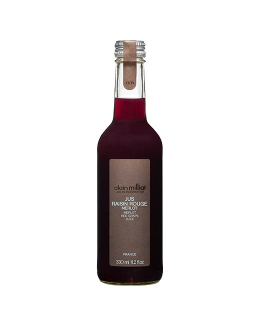 Zumo de uva roja Merlot - Alain Milliat