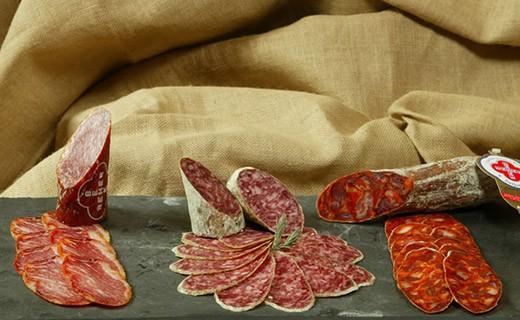 Chorizo de Bellota - cortado - Beher