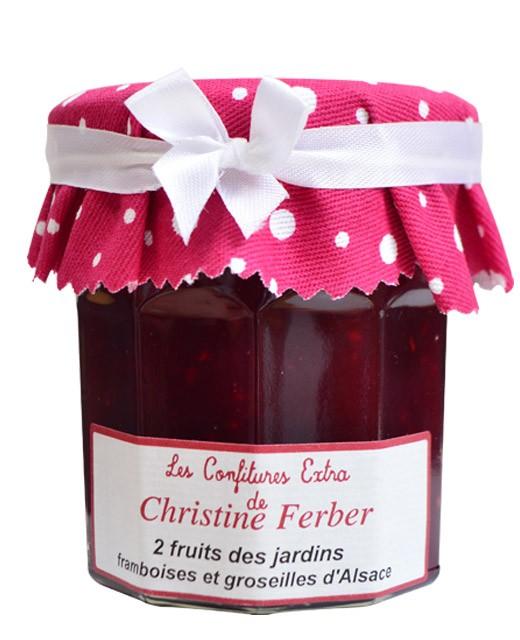 Mermelada de 2 frutos del bosque - frambuesas y grosellas - Christine Ferber