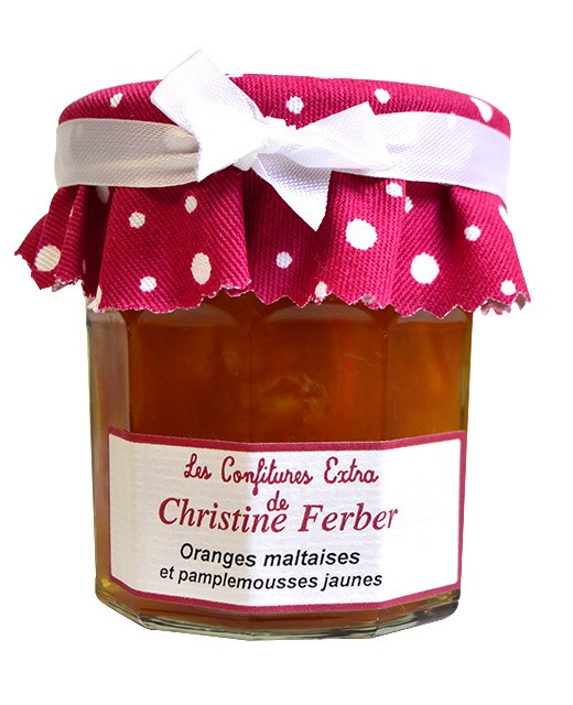 Mermelada de naranja y pomelo  - Christine Ferber