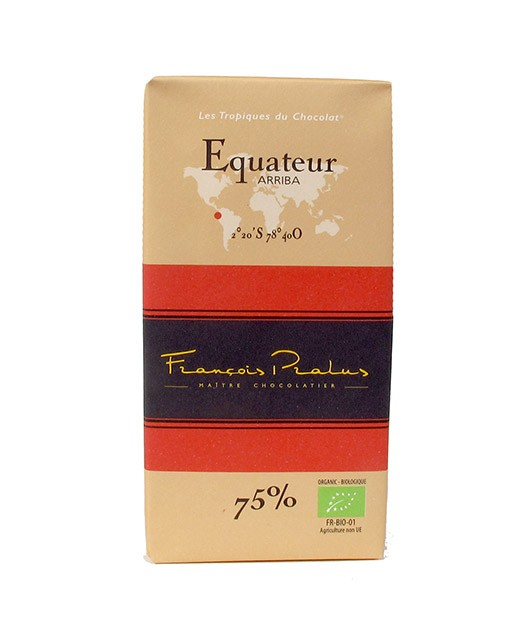 Tableta chocolate negro Ecuador orgánico - Pralus