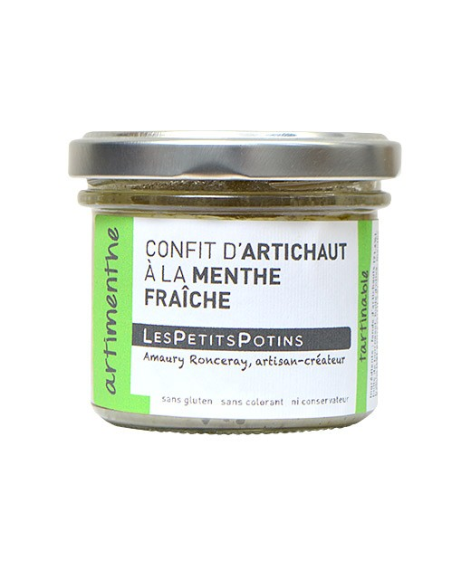 Confit de ajo confitado con menta fresca y pimienta - Les Petits Potins