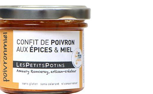 Confit de pimentón con especias y miel - Les Petits Potins