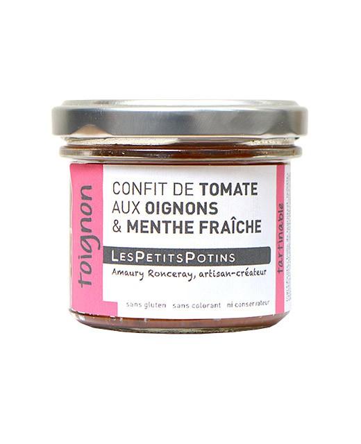 Confit de tomate con cebollas y comino - Les Petits Potins