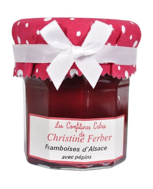 Mermelada de frambuesas con pepitas - Christine Ferber