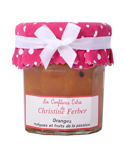Mermelada de naranja, mango y frutos de la pasión - Christine Ferber
