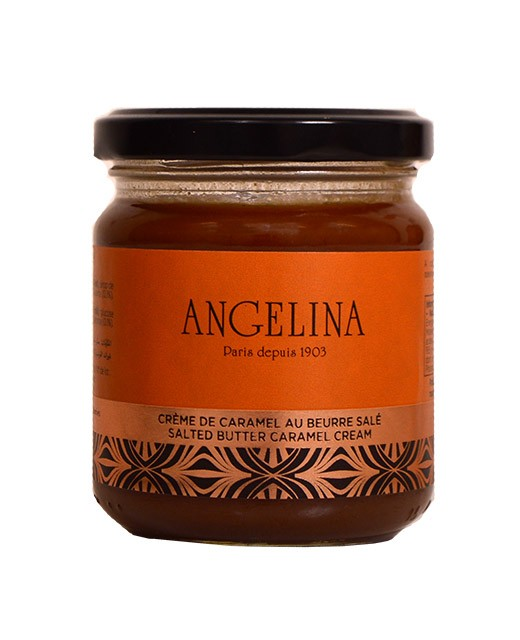 Crema de caramelo con mantequilla salada - Angelina