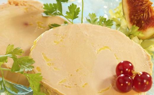 Foie gras de pato entero con pimiento de Espelette - Dupérier