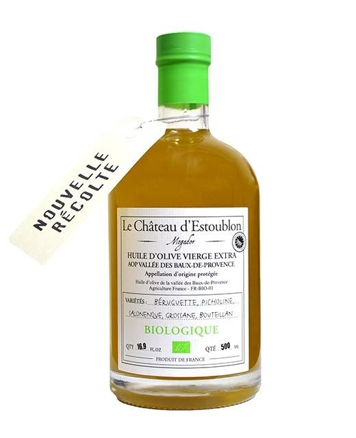 Aceite de oliva virgen extra - DOP Vallée des Baux de Provence - Château d'Estoublon